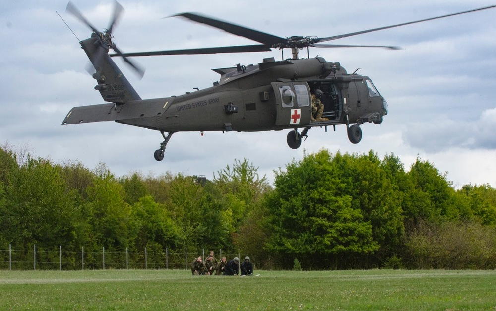 4-3 Assault Helicopter Battalion supports training for German Bundeswehr Soldiers