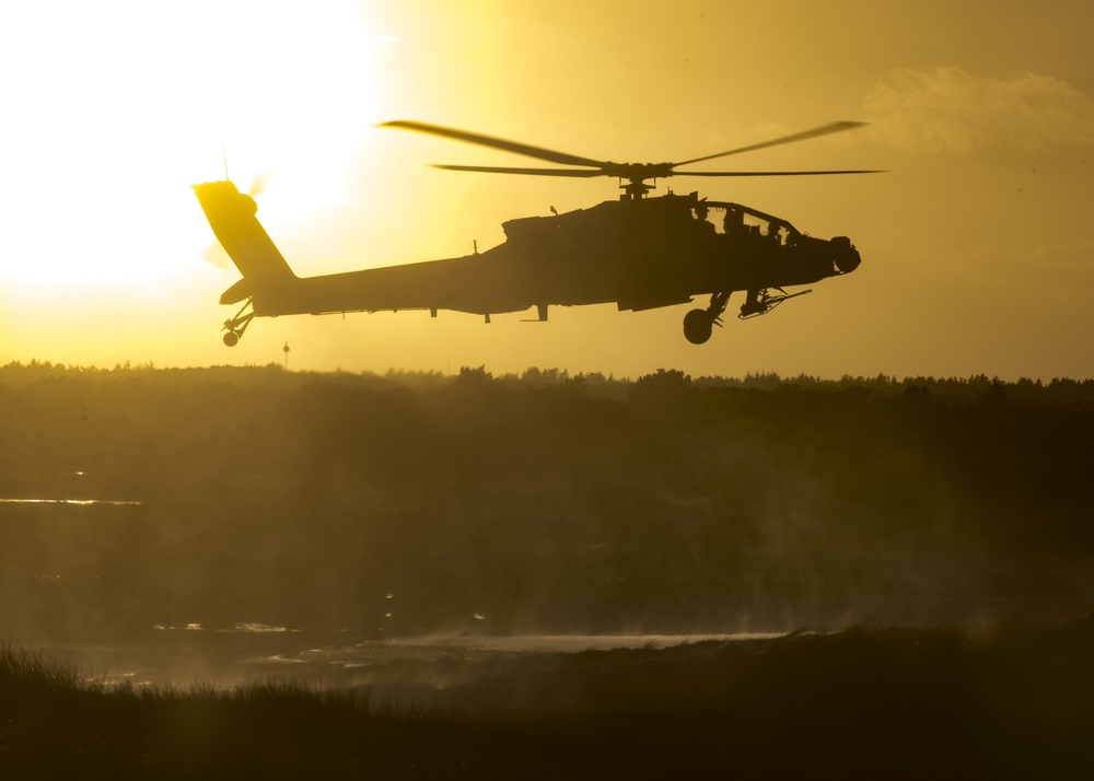 12th Combat Aviation Brigade participates in Operation White Sword