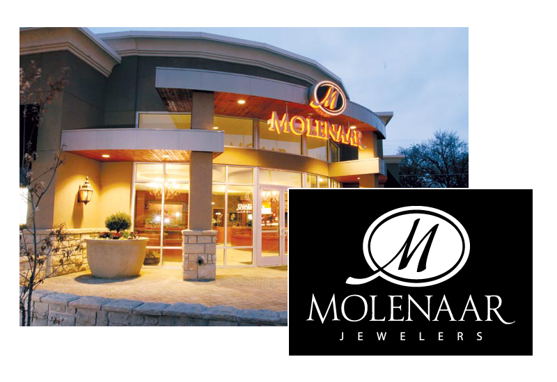Corporate Identity for Molenaar Jewelers in Boise, Idaho.
