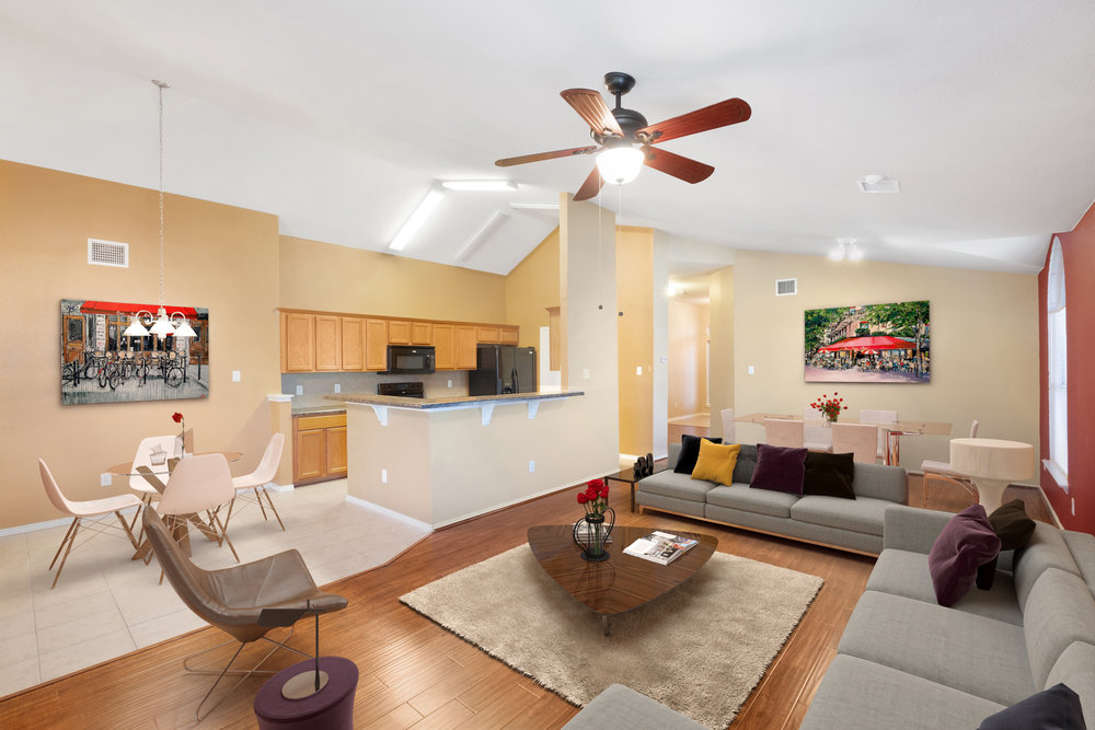 Real Estate Interior - Virtually Staged