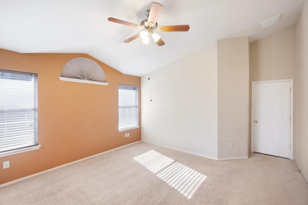 Real Estate Interior - Master Bedroom