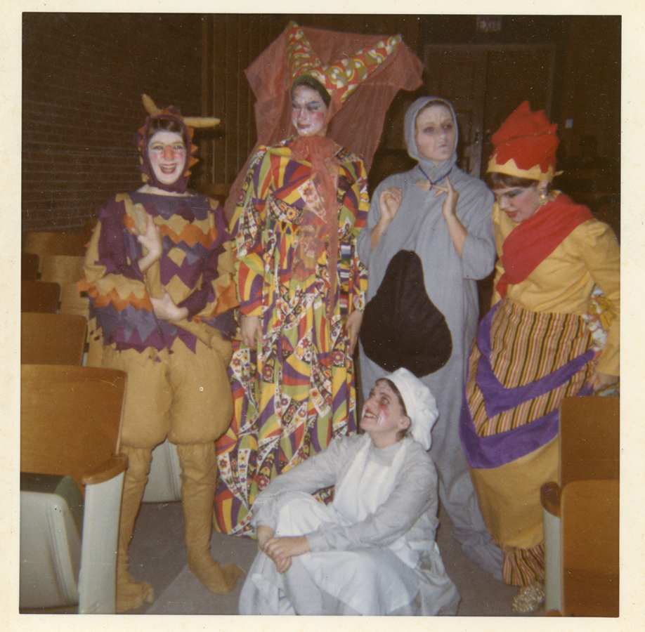 ~1970 CHS Alice in Wonderland featuring Heather MacKenzie as the Dutchess