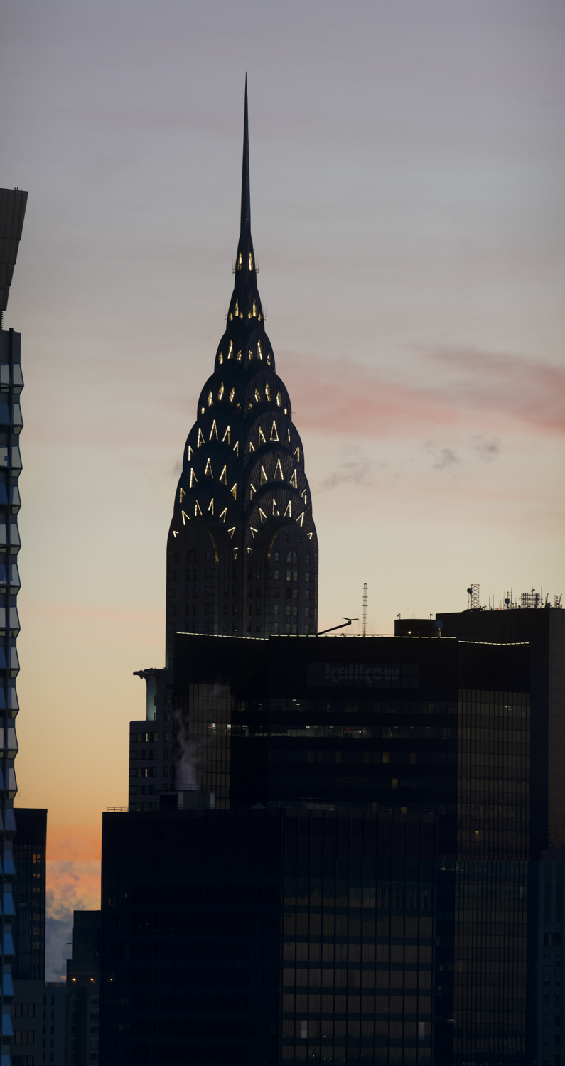 The Chrysler Building at Sunrise