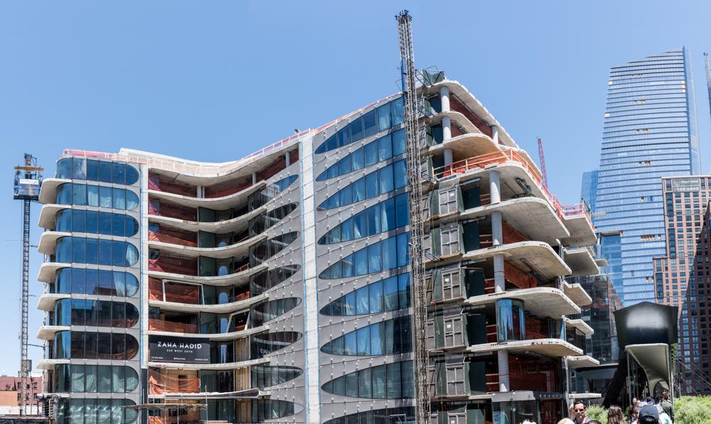 Zahad Hadid Building