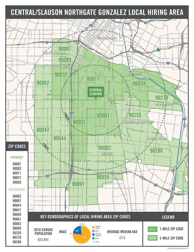 Zip Code 90011 Map Location Willowbrook California Wikipedia