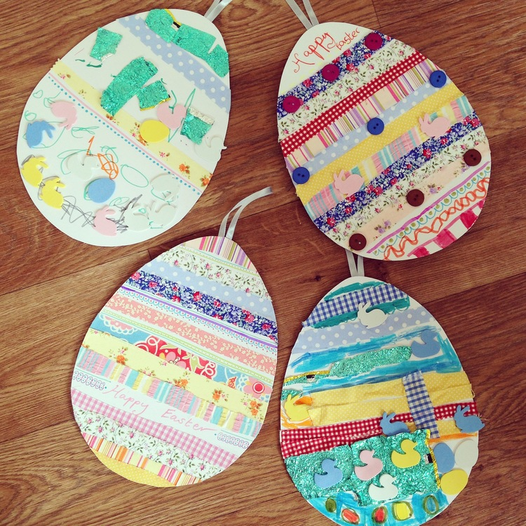 Giant easter egg decorations mad fun creative this is a craft we did last year with the kids and it worked so well and kept them entertained for ages and that is after all what we want happy content negle Gallery
