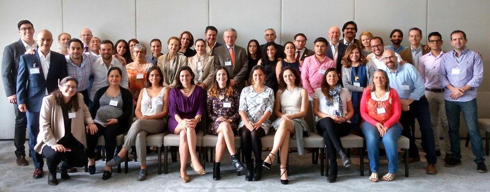 Participantes Acelerando el cambio educativo desde el emprendimiento social