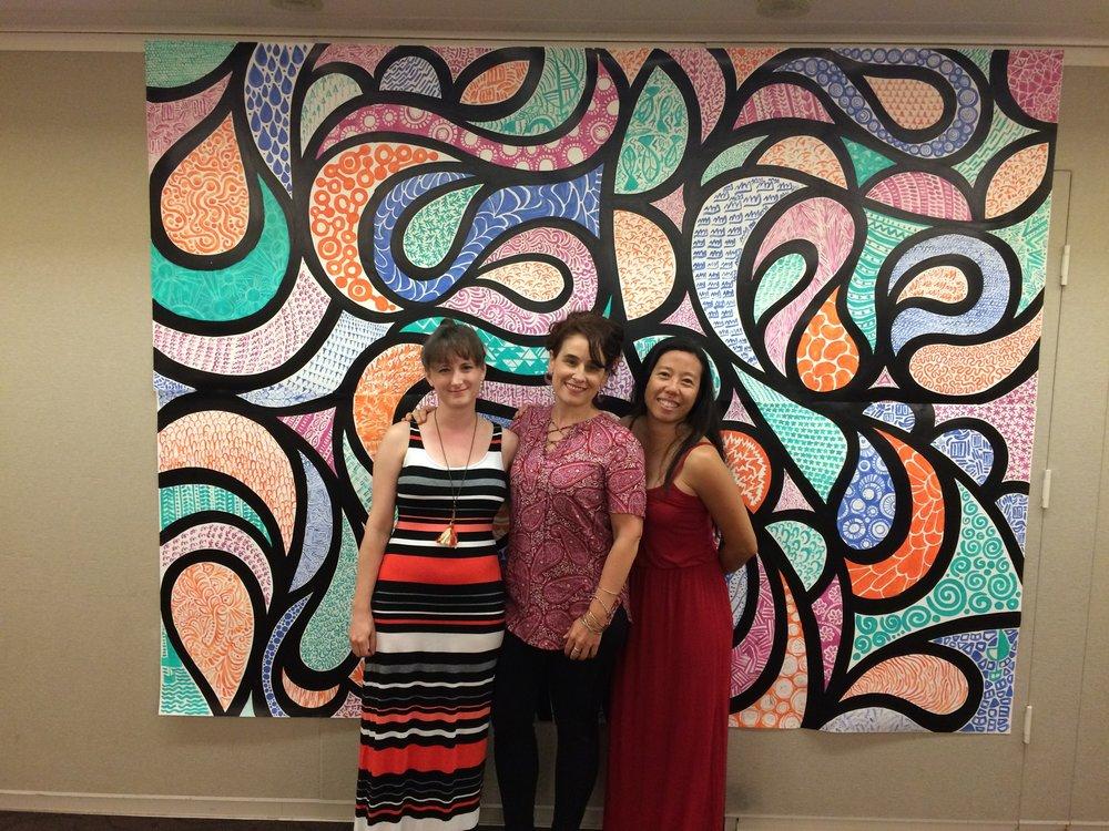 Amazing new artistic friends!