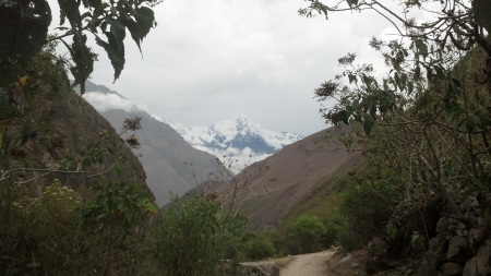 Our View as we Hiked the Inca Trail in Peru