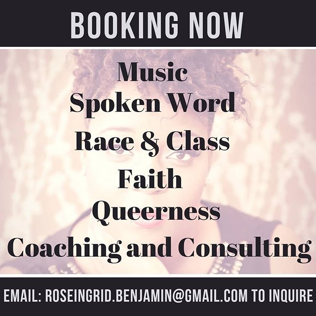 New year, new moves.  I am ending my hiatus in 2019. If you are looking for a speaker, host, poet, or singer for your event, you're in luck cause I'm booking!  I would love to spend time with you and your community sharing songs, poems, stories and experiences. Let's make it happen.  Email Me: roseingrid.benjamin@gmail.com for inquiries. . . . #indie #artist #singer #songwriter #poet #spokenword #actor #coach #speaker #host #teacher #writer #poetsofinstagram #writersofinstagram #actorsofinstagram #poetsofinstagram #singersofinstagram #race #justice #faith  #music #art #pocnetwork #blackgirlmagic