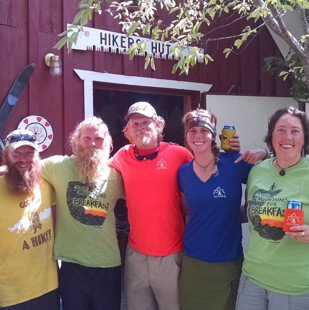 Friends at Hiker Hostel in Etna.PNG