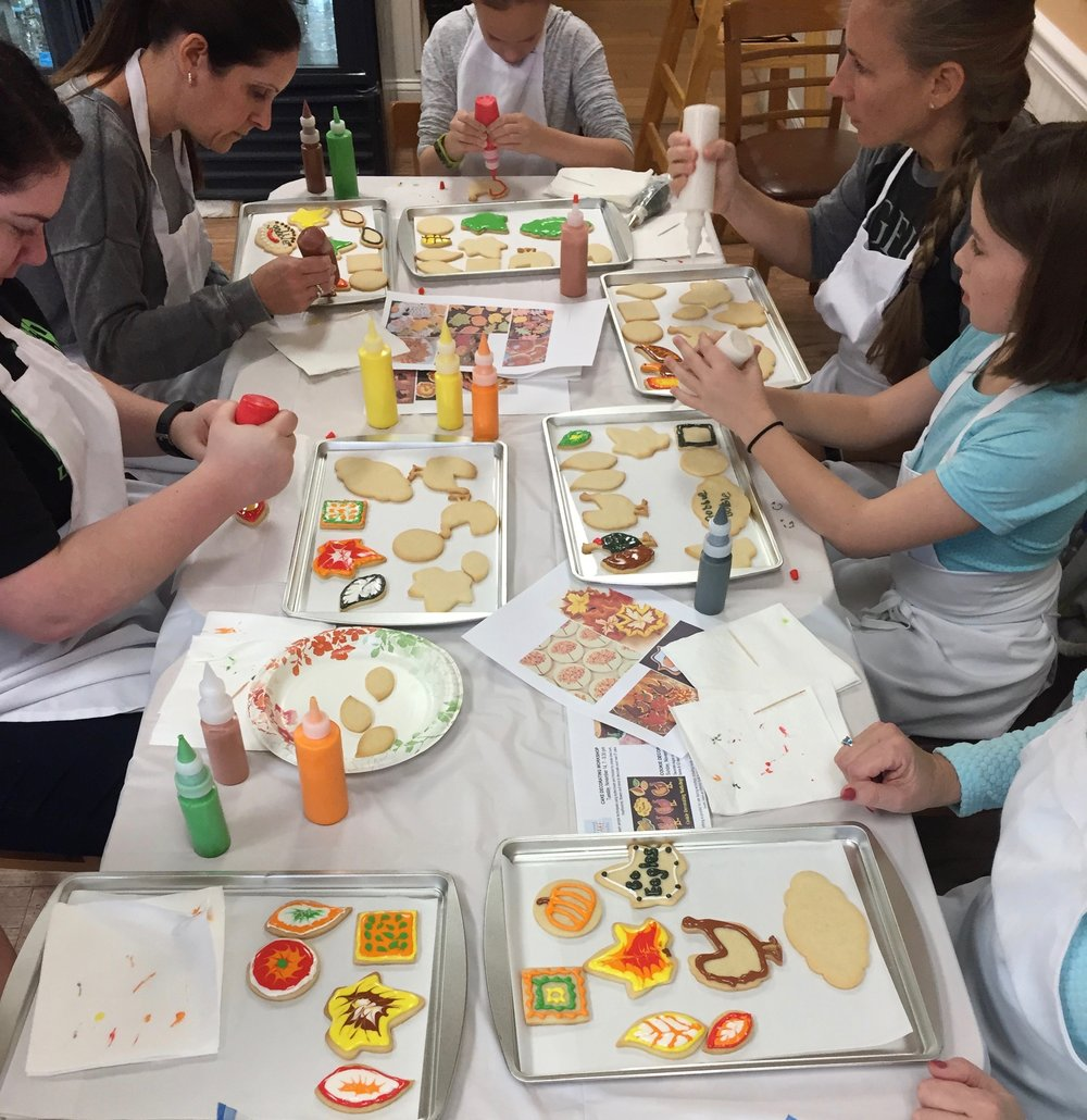 Frosted Cake Studio - Cookie Decorating Class