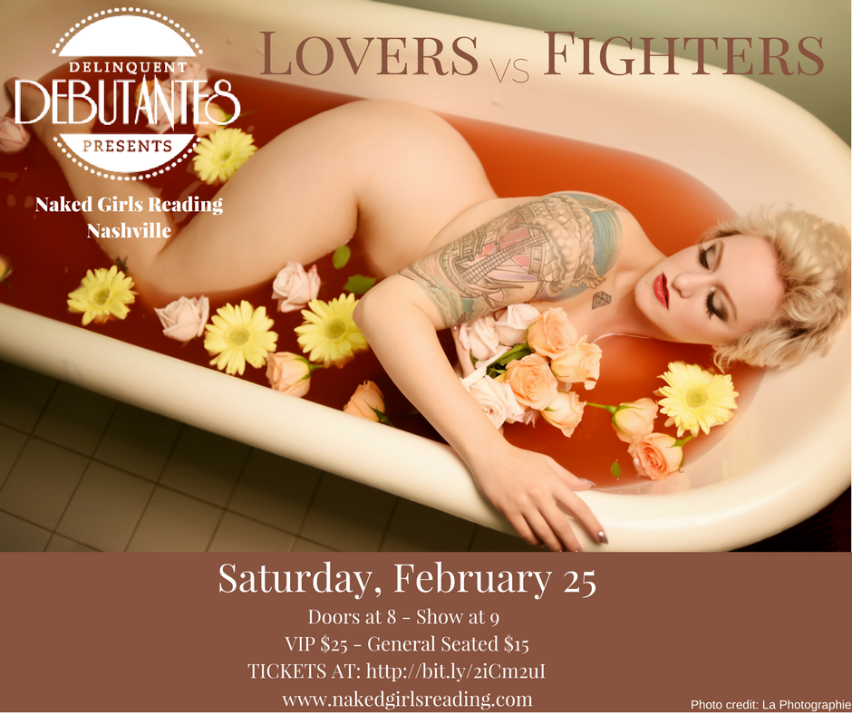 Naked Girls Reading: Lovers vs Fighters