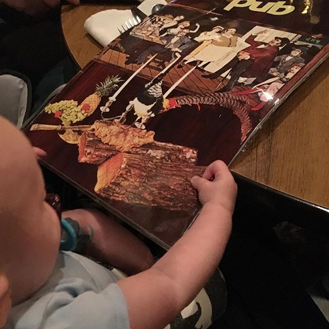 Baby's first trip to the Pub