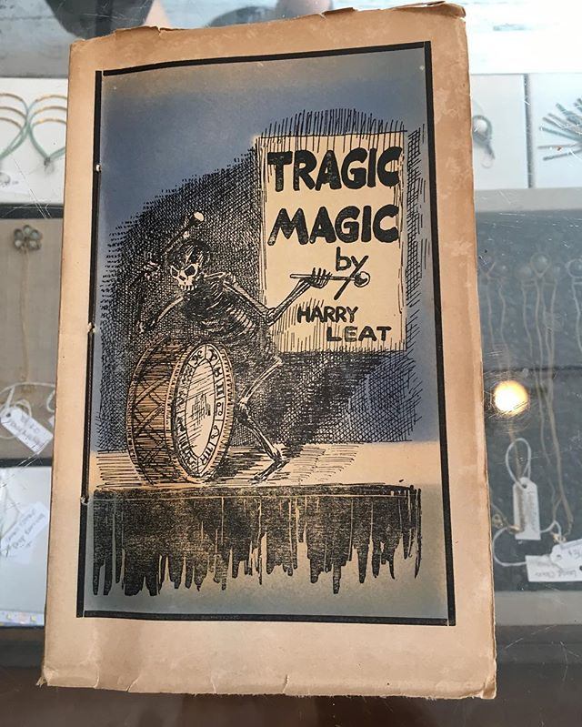 Impress your friends with some serious skills with Tragic Magic ✨ 1925 book of magical sketches, original tricks, forceful articles and many other items of general interest to magicians ✨ $25 includes shipping