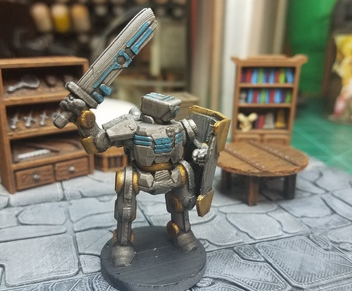 C-9 Cyclops  , printed and painted by  Dee Power