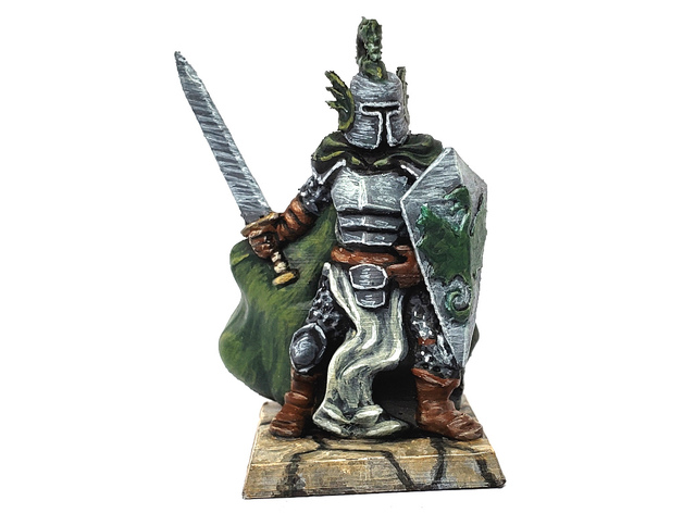 Dragon Knight  , printed and painted by  James C