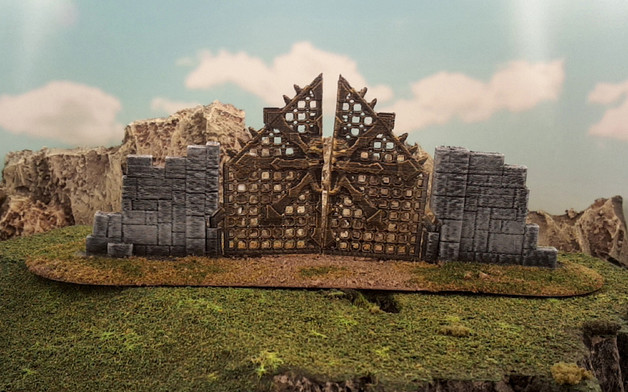 Chaos Gate  , printed and painted by  Markus Kruse