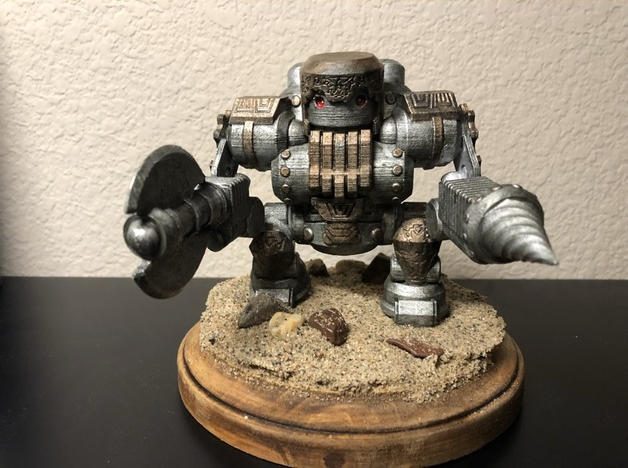 Netherforged Jotunkiller  , printed and painted by  Ronny Hilton