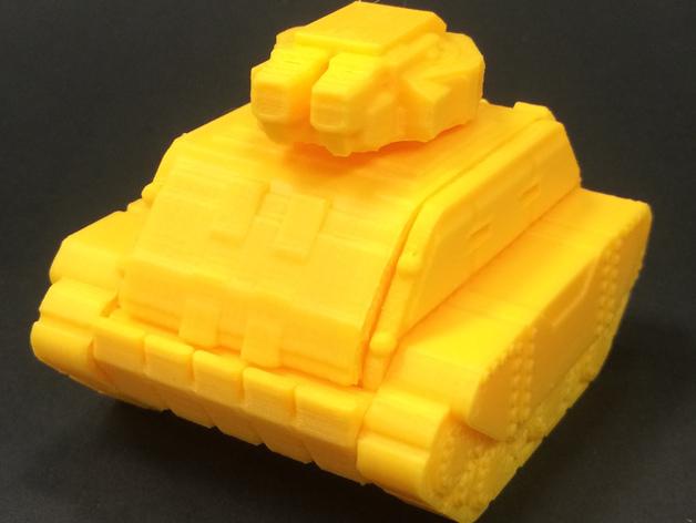Gilgamesh Battle Tank  , printed by  Sean Hunter