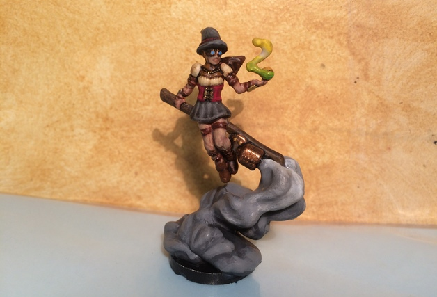Steam Witch  , printed and painted by  Michael Major
