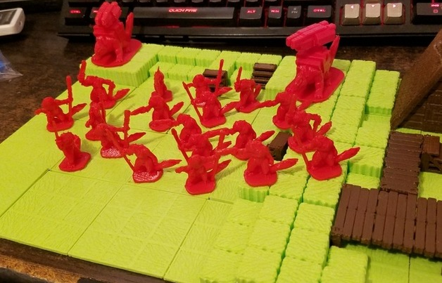 Slisk Raiding Party  , printed by  Lam Sing