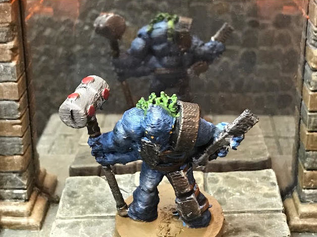 Scilinoid Soldier  , printed and painted by  Michael Tresca