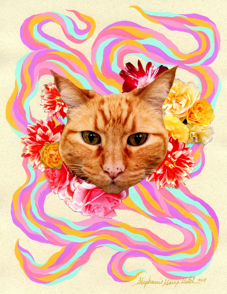 Bella was also featured in our recent art show located at the Cat Town and her lucky adopter will also get to take home her likeness in a lovely art piece to commemorate the occasion.