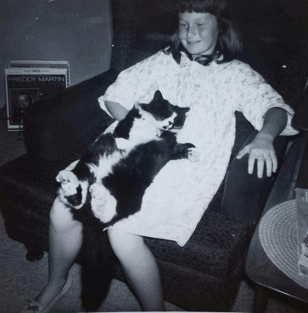 Shelley is a life-long cat lady!