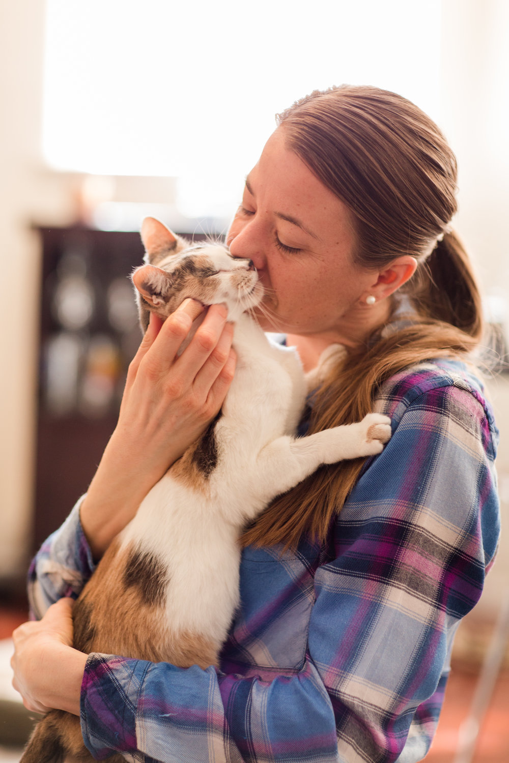 Helping pets in their homes removes stress from the shelter, the animal, and the people involved.