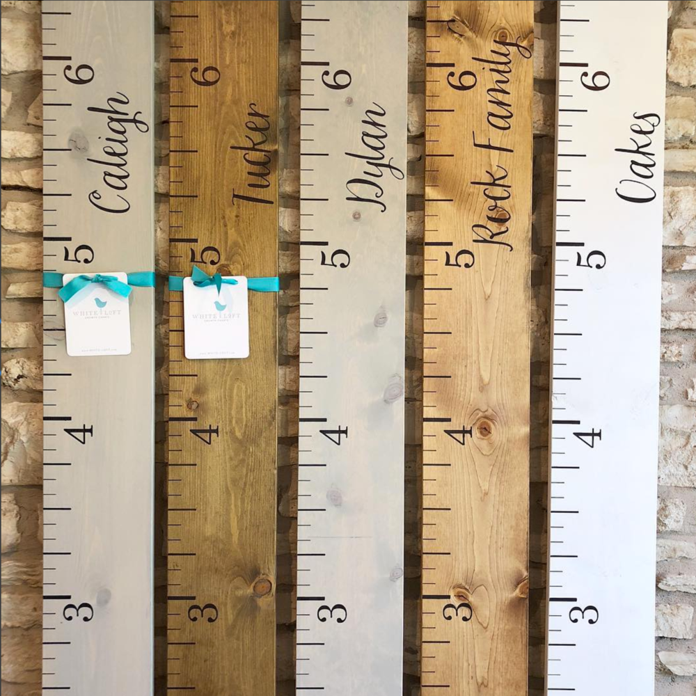 Shop White Loft - Custom Growth Charts