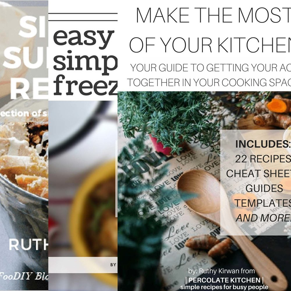 Cooking e-books - Percolate Kitchen's Cookbooks