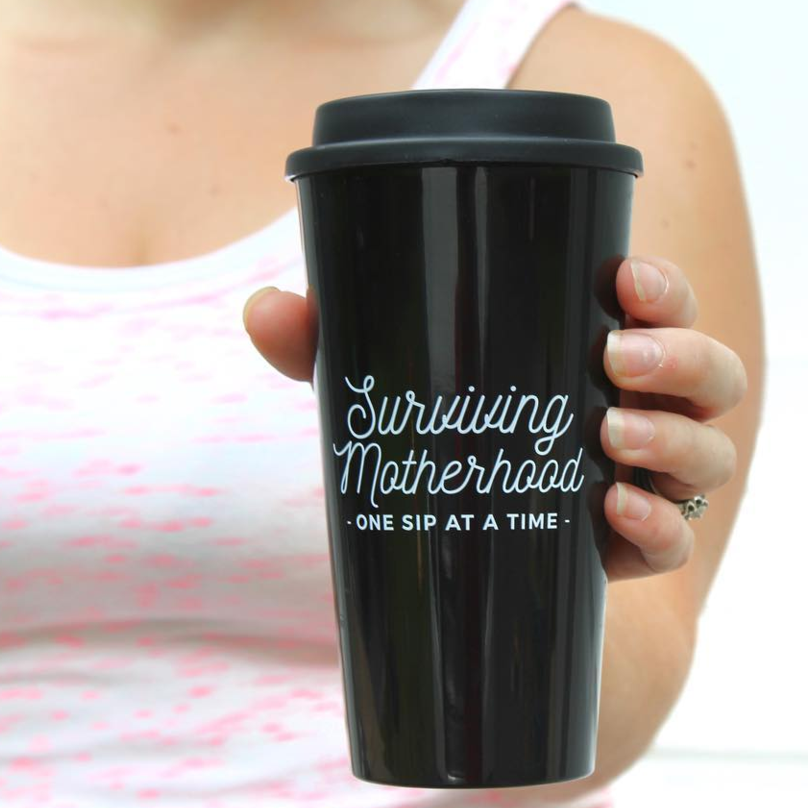 Motherhood Tumbler - Mom Life Must Haves