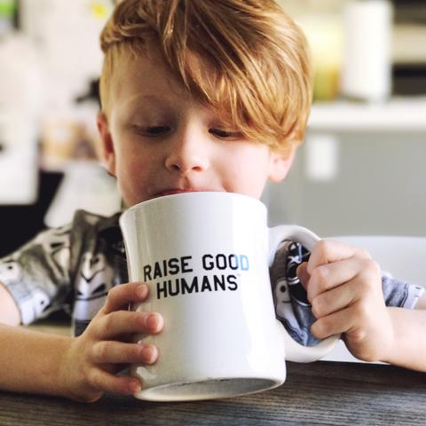 Raise Good Humans Mug - Weestructed