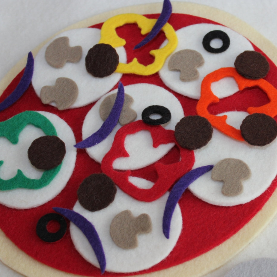 Felt Pizza Set - Felt Loose and Fancy Free