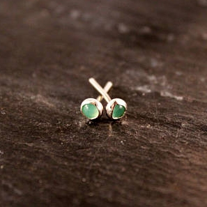 Gemstone Studs - Simply Chic Jewelry