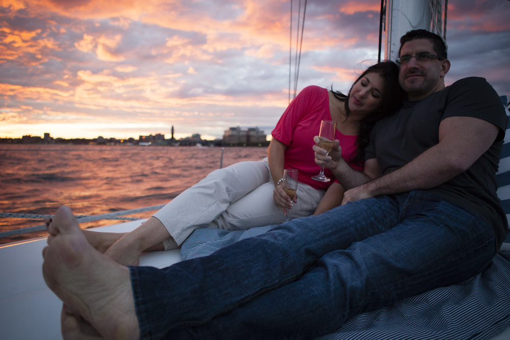 Date Anniversaries Engagement Boat NYC