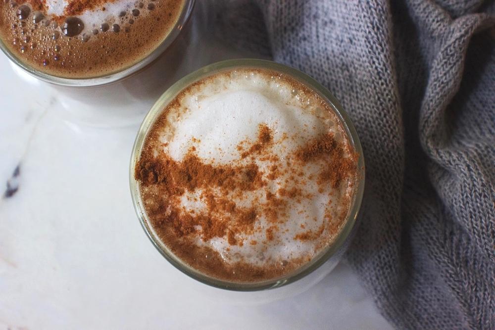 Almond Milk Peanut Butter Latte