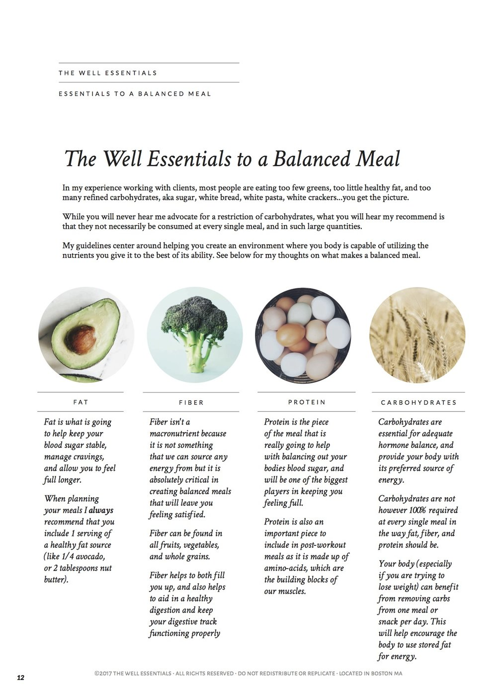 The Well Essentials Healthy Meal Planning Guide