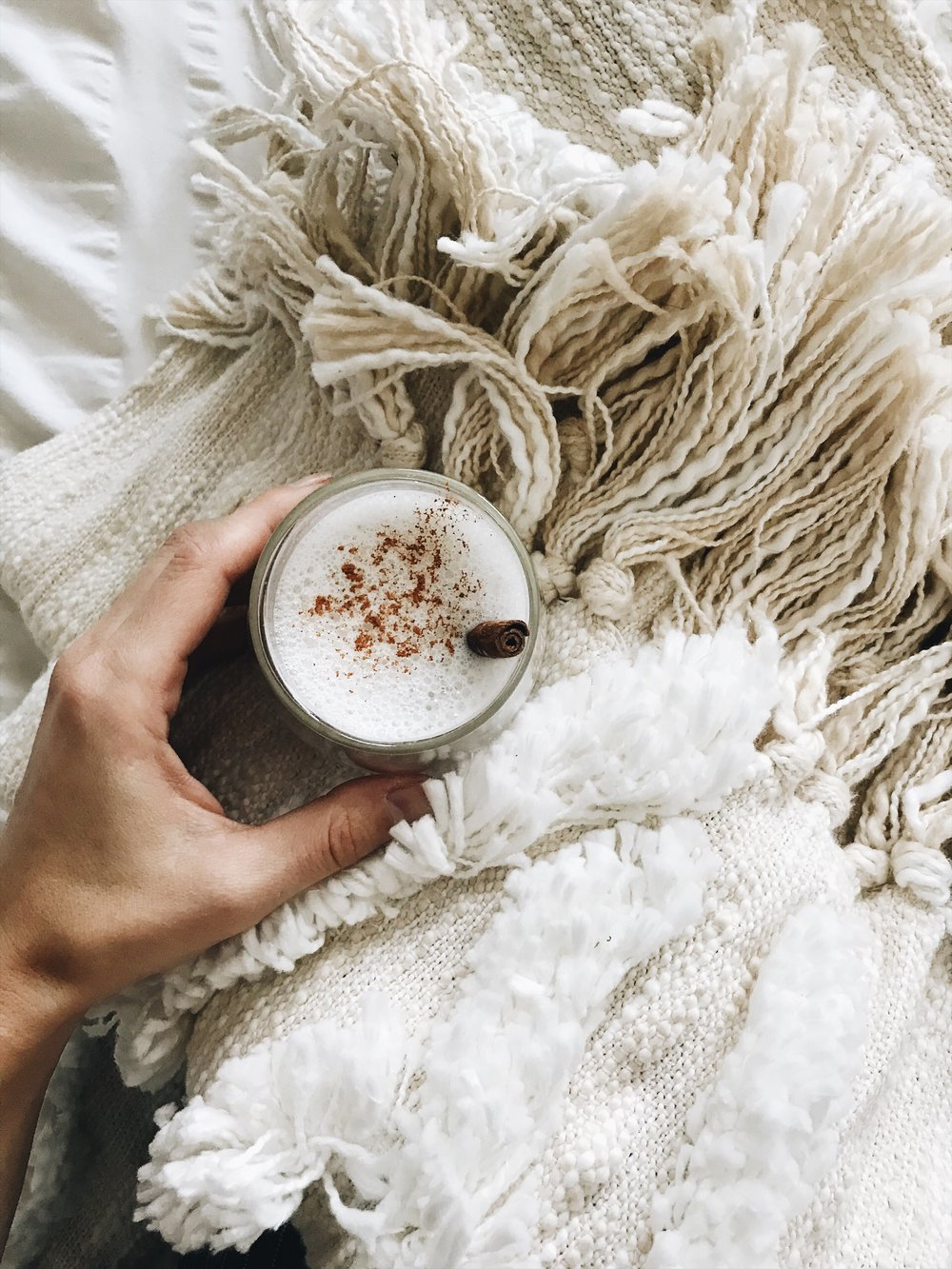 calming homemade cinnamon chai latte
