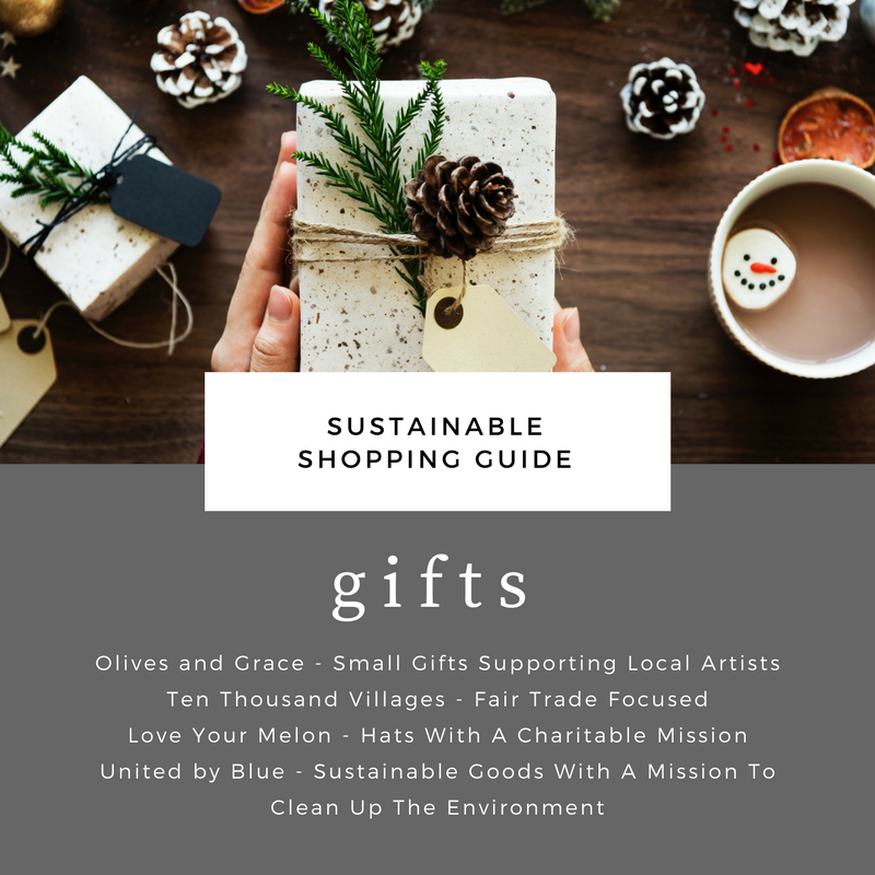 sustainable shopping