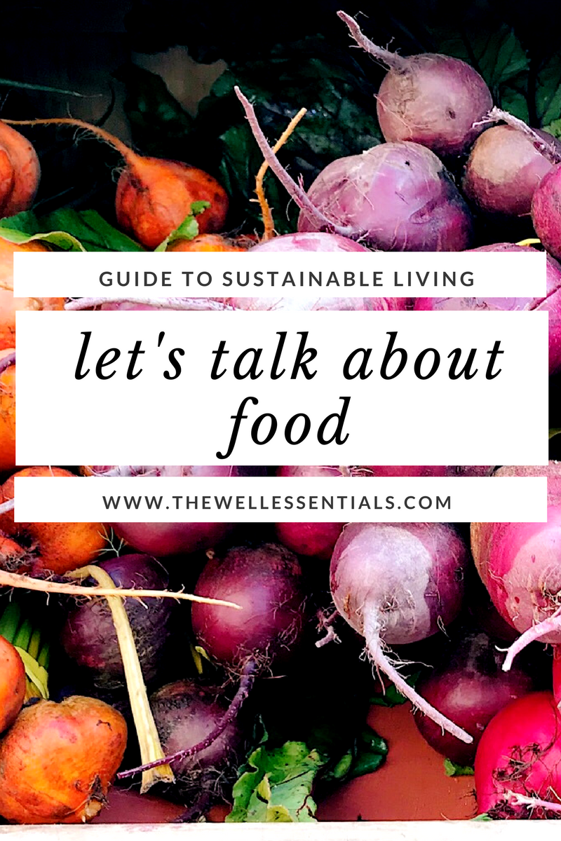 sustainable food system - the well essentials