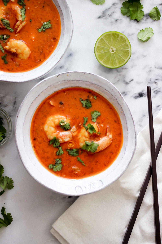 Coconut Thai Red Prawn Curry Recipe