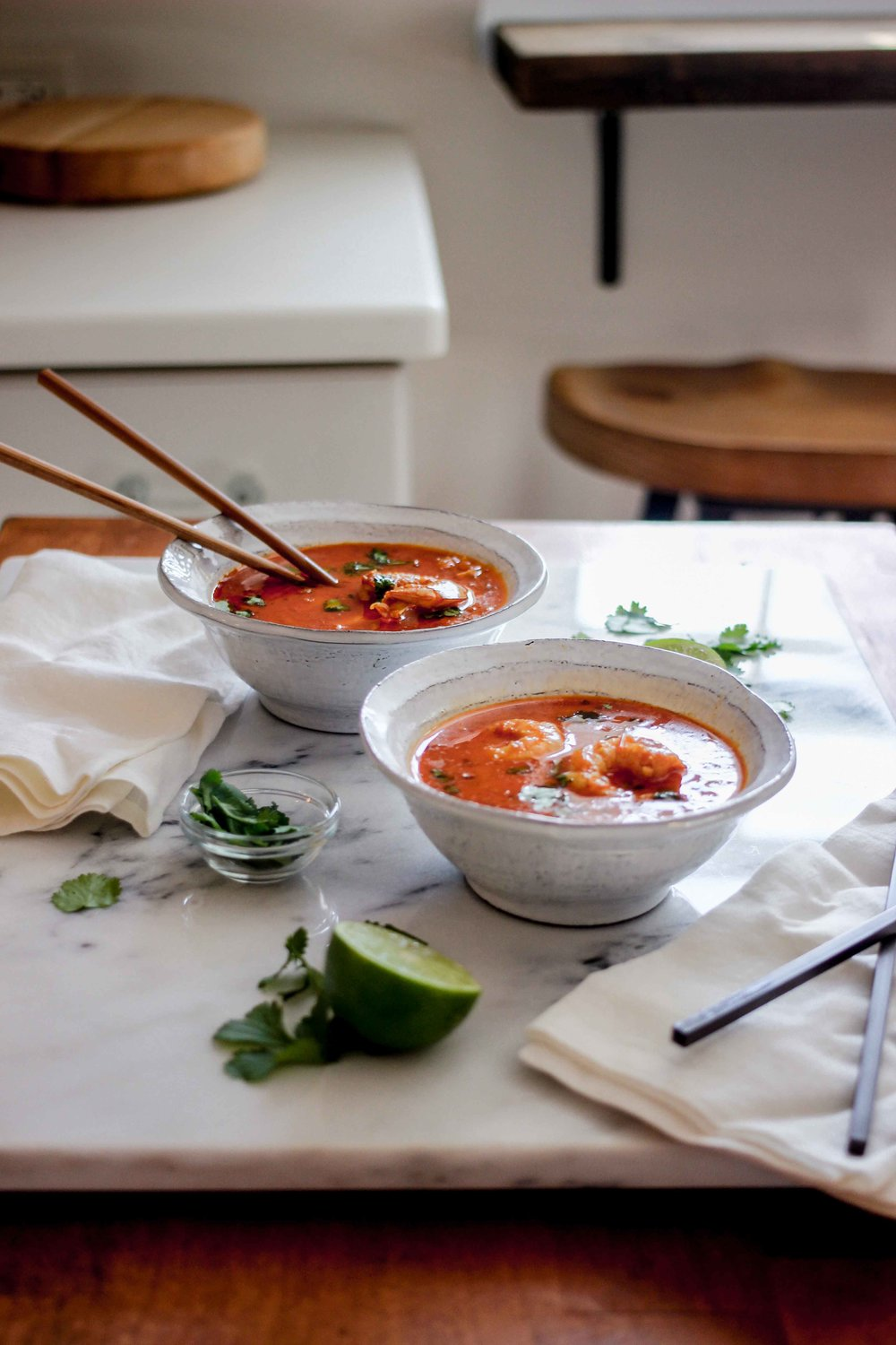 Authentic Thai Red Coconut Shrimp Curry - The Well Essentials