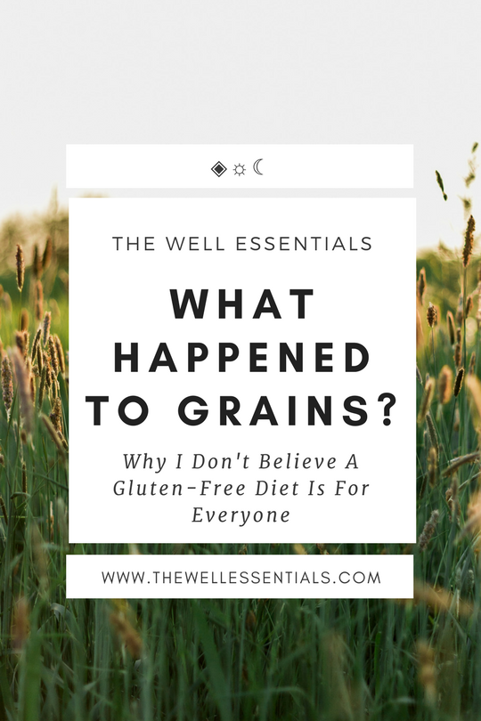 What Happened To Our Grains - The Well Essentials