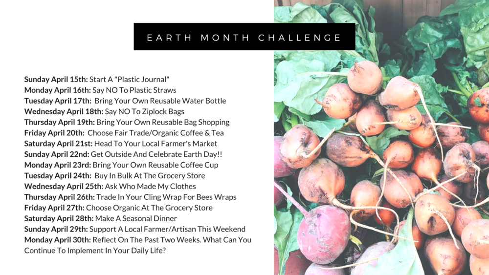 Earth Month Challenge - The Well Essentials