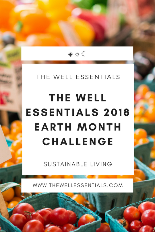 The Well Essentials 2018 Earth Month Challenge - The Well Essentials