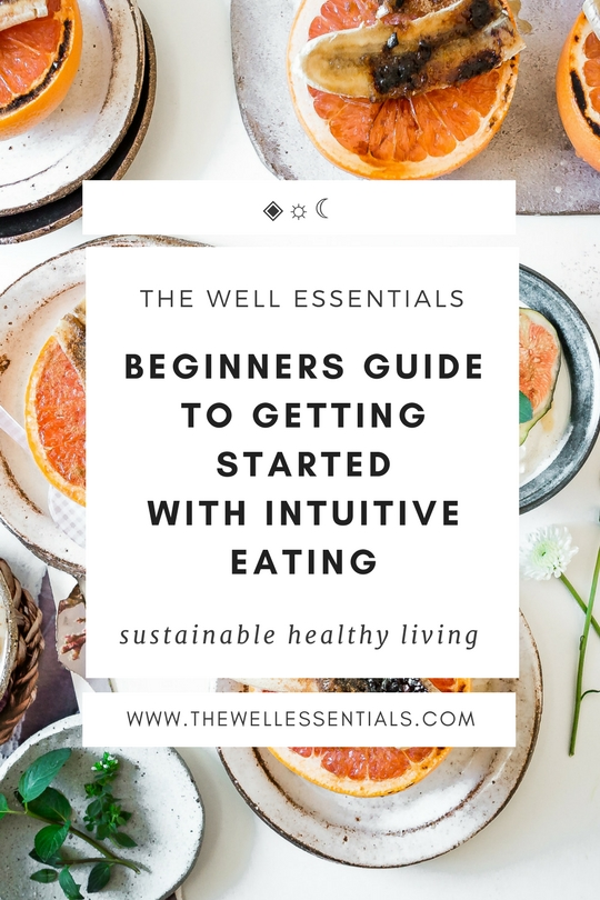 Getting Started With Intuitive Eating