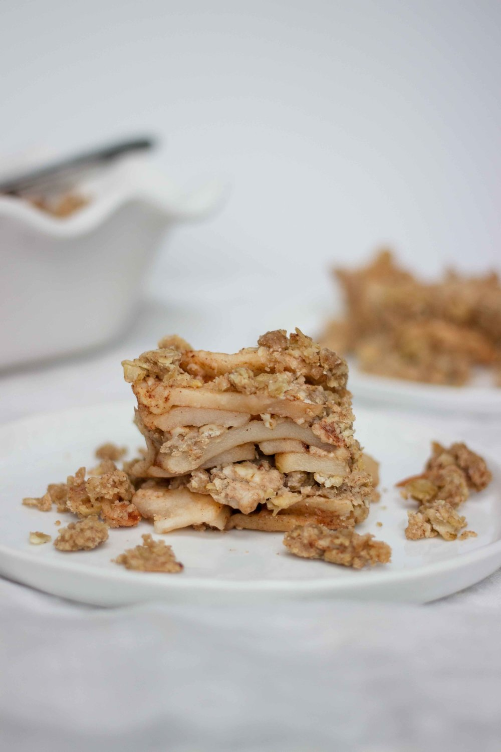 Gluten Free Layered Apple Crisp - The Well Essentials