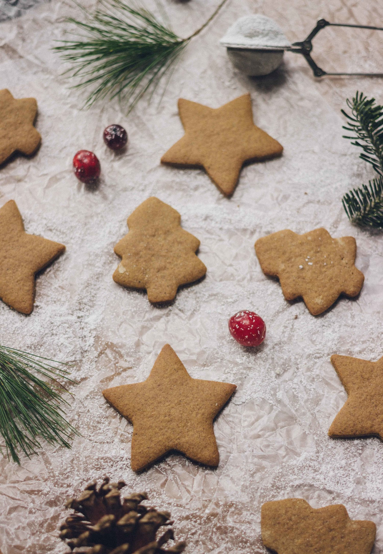 Swedish Pepparkakor Gingersnap Cookies Gluten Free